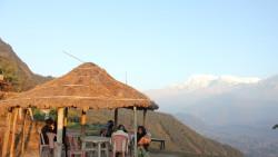 博卡拉景点-萨朗科(Sarangkot)