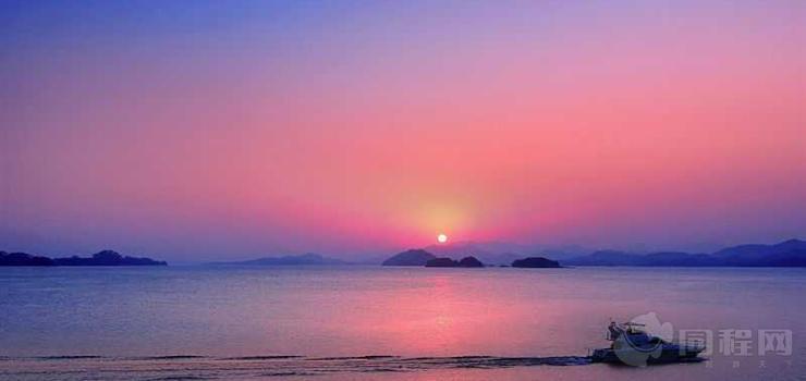 千岛湖夜游