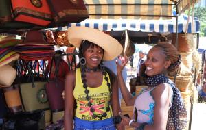 【马赛图片】肯尼亚内罗毕 ,购物天堂 Marseille Market (马赛市场)