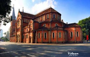 胡志明市景点-西贡王公圣母教堂