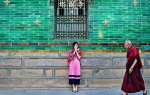 【青海湖图片】四个女生的西北色彩(西宁、青海湖、祁连山、张掖、敦煌)