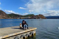 """丽江 女儿国""""泸沽湖"""",隐藏在险峻高山之中的仙境"""
