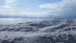 青海湖景点-漠河盐场