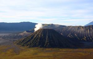 【布罗莫火山图片】爪哇火山记