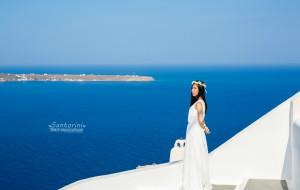 【圣托里尼图片】遇见希腊爱琴海,在最美好的年华里——带婚纱、长裙蜜月游希腊(海量美图+旅行攻略)