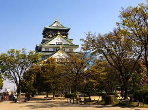 【大阪景点图片】大阪城天守阁