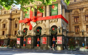 【澳大利亚图片】墨尔本街拍 — 日渐浓郁的圣诞气氛