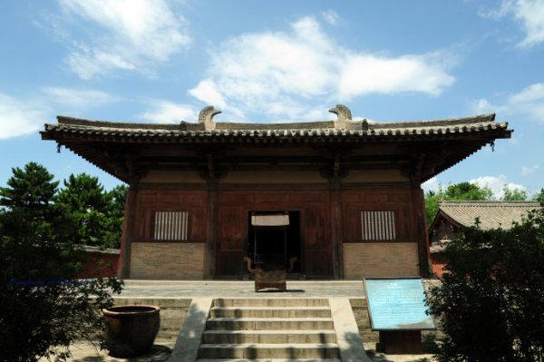 中国最古老的木构建筑