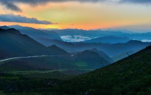 【互助图片】青海互助北山看日出