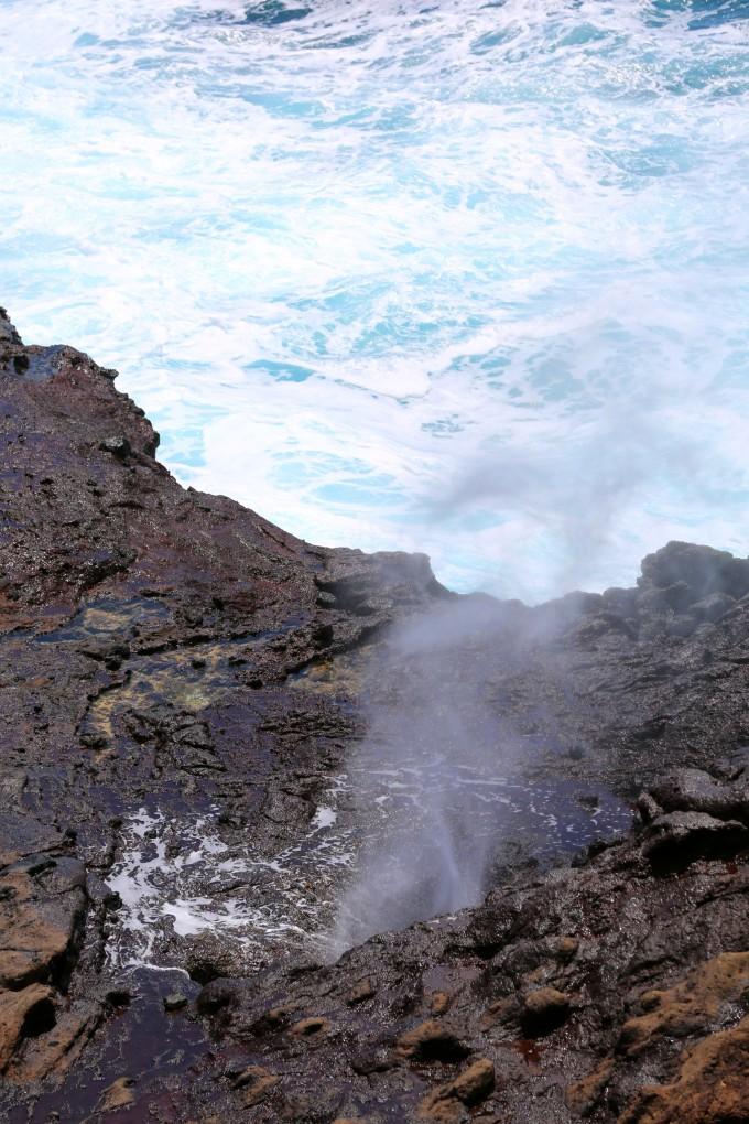 大海岩石流动延时素材