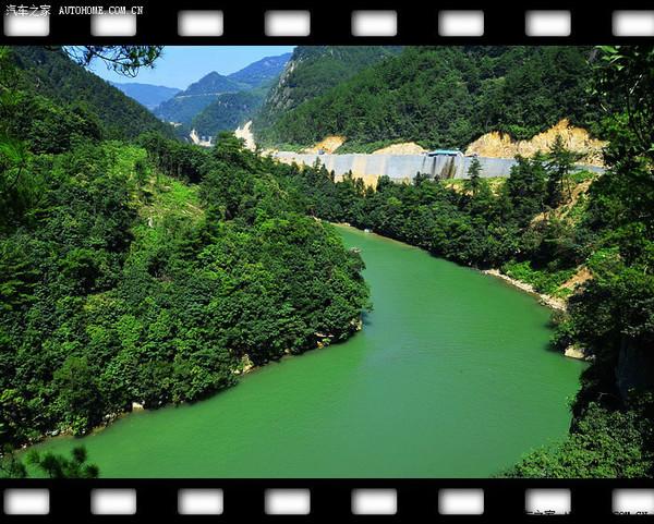 浙西大峡谷,龙井峡漂流,浙西大峡谷西苑山庄农家乐,三天两夜开心图片