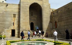 【阿塞拜疆图片】#消夏计划#【阿塞拜疆】希尔凡国王宫殿建筑群