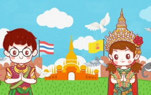 【曼谷图片】【旅行这件幸(zhuang)福(bi)的小事】夜小梦和胖洲的泰国之旅