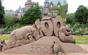 苏格兰娱乐-爱丁堡动物园