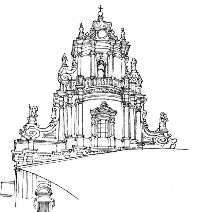 简笔画 手绘 素描 线稿 680_695