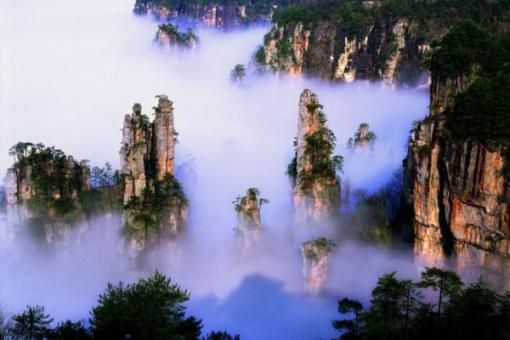 【广州出发】p2:张家界国家森林公园  天门山玻璃栈道