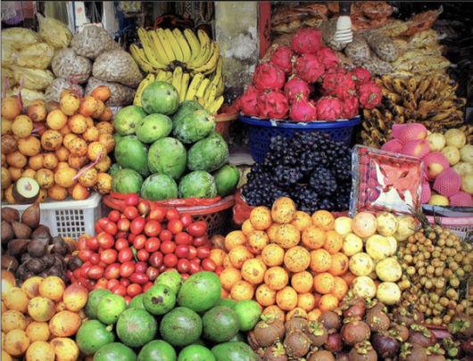 巴厘岛 水神庙 水果香料市场 水上餐厅一日游