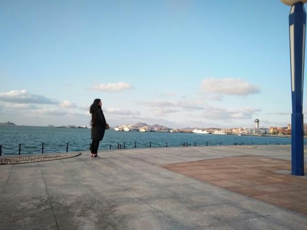 穿着羽绒服去看海,困岛记~山东烟台长岛