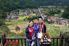 日本北陆童话王国--白川乡+黑部峡谷小火车之旅