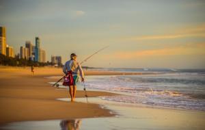 【凯恩斯图片】【洛克足记】背包客的独行,一个人在黄金海岸上天下海