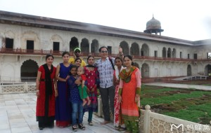 【印度图片】南亚印度佛教之行...亚格拉城堡风景区实拍
