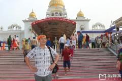 南亚印度佛教之行...印度锡克教堂随拍