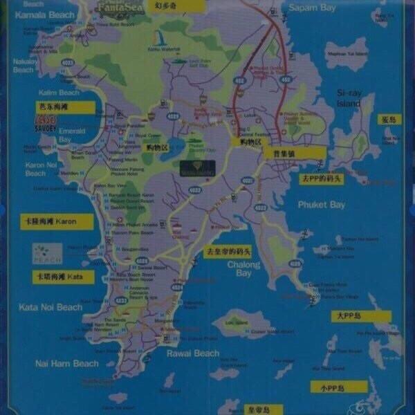 米兰风景周边地图