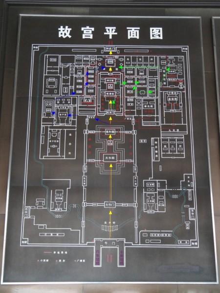 故宫平面图 1001 106