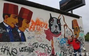 【德国图片】欧洲德国游之...世界著名的柏林墙涂鸦随拍