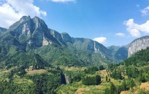 【鹤峰图片】一个人的穿越,恩施鹿院坪~峡谷中坐落的世外桃源