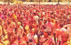 【恒河图片】HAPPY   HOLI    FESTIVEL   !!!我在印度过洒红节 !!!