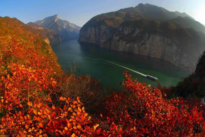三峡冬天风景描写