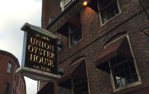 波士顿美食-Union Oyster House