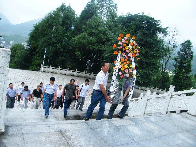 鄂西红土地---容美镇的烈士陵园,鹤峰旅游攻略 - 蚂