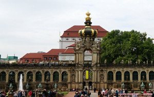 【德累斯顿图片】【 德国德累斯顿 · 茨温格宫 】——东欧之旅(17)