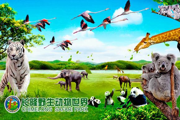 长隆野生动物世界·世界动物种群最大