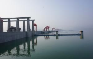 【宜昌图片】船行三峡:尾声--西陵漫卷山水画,大坝横江出平湖