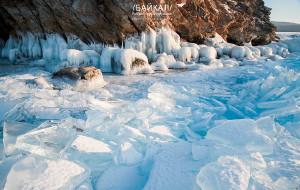 【俄罗斯图片】❤ 蜂首纪念 ❤【冰封的贝加尔湖】赴一场清澈又神秘的视觉盛宴!