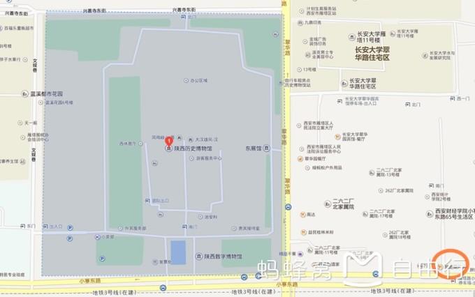 陕西历史博物馆 大雁塔广场