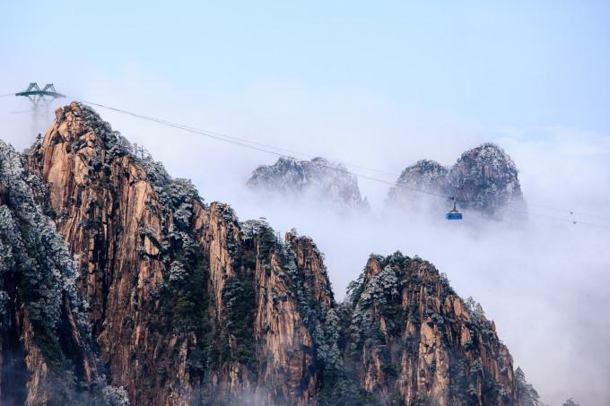黄山旅游大概多少钱_难忘冰雪下的黄山奇景,黄山旅游攻略 - 马蜂窝