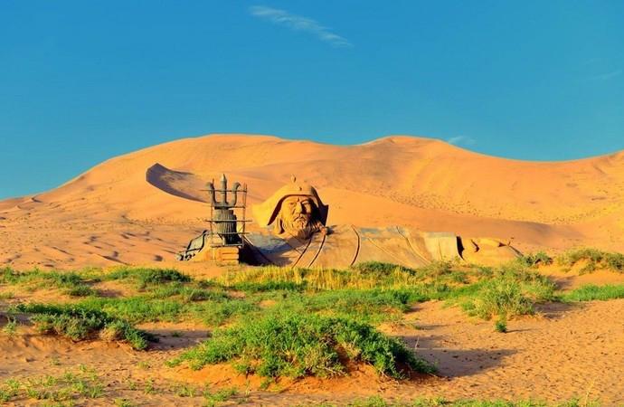 大漠黃沙—巴丹吉林沙漠那難忘的日子