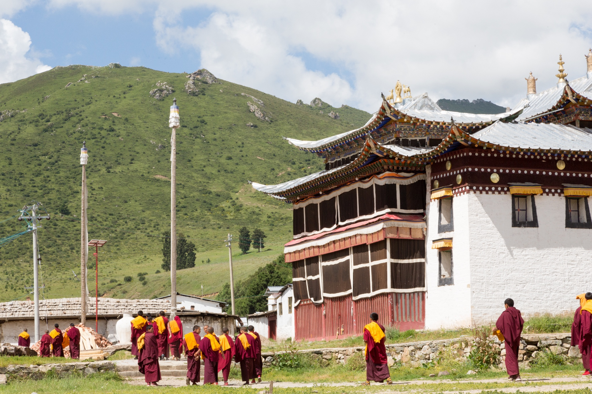 China GanSu Labrang Monastery tours