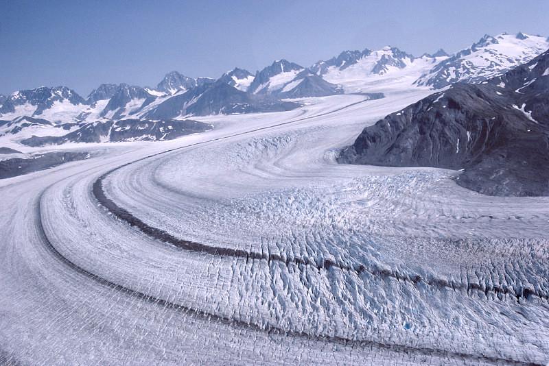 阿拉斯加冰川徒步,亲自踏足这片外太空的幽蓝空间_图5