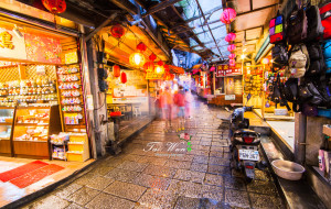 台湾美食-九份老街