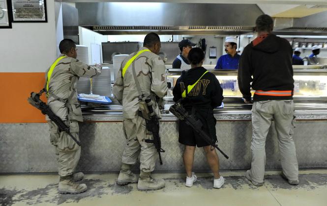 探秘美軍駐阿富汗軍營