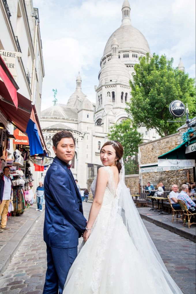 巴黎拍婚纱照_梅西巴黎